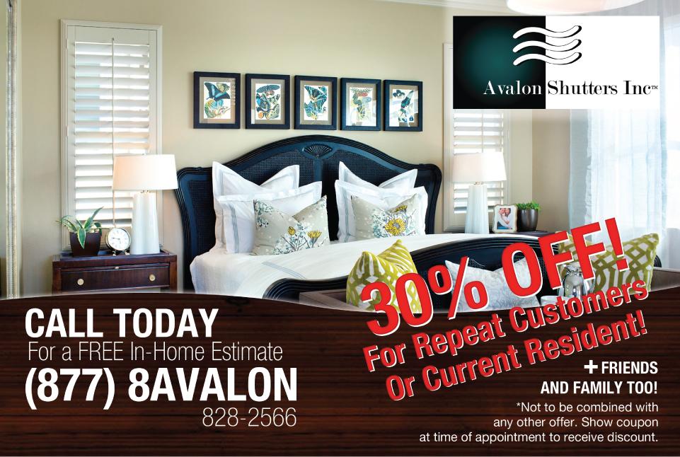 Avalon Shutters