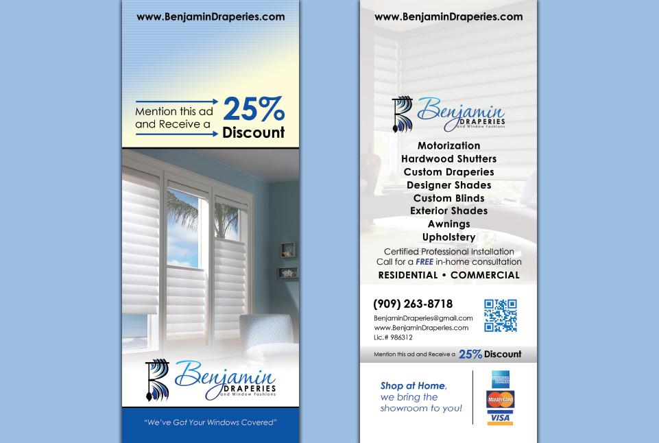 Benjamin Draperies Door Hanger
