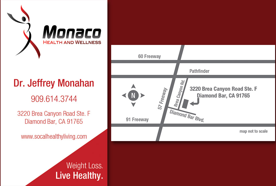 Monaco Business Card