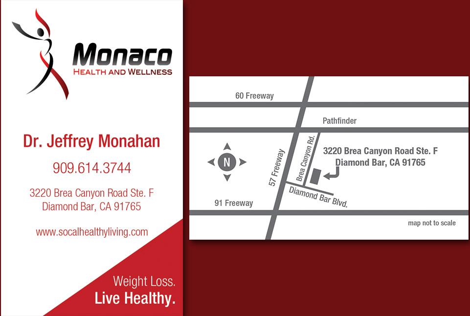 Monaco Business Card