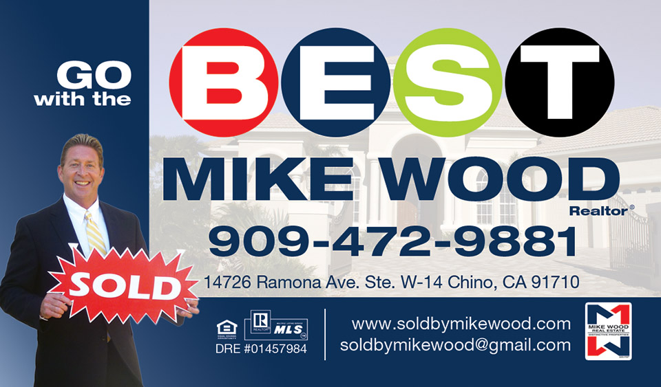 Mike Wood Business Card