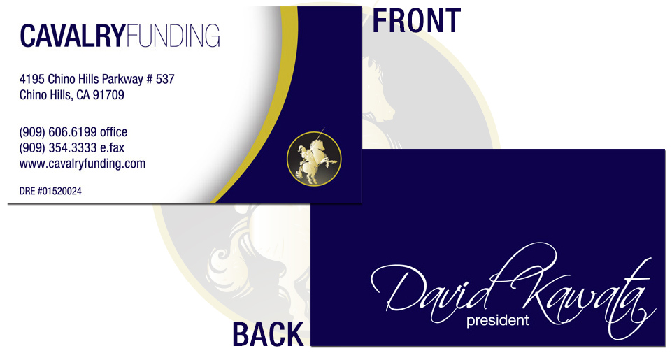 Cavalry Funding Business Card